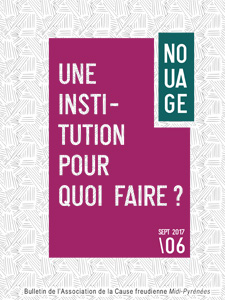 couverture nouage 06 une institution pour quoi faire?